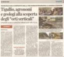 """Tigullio, agronomi e geologi alla scoperta degli """"orti verticali"""""""