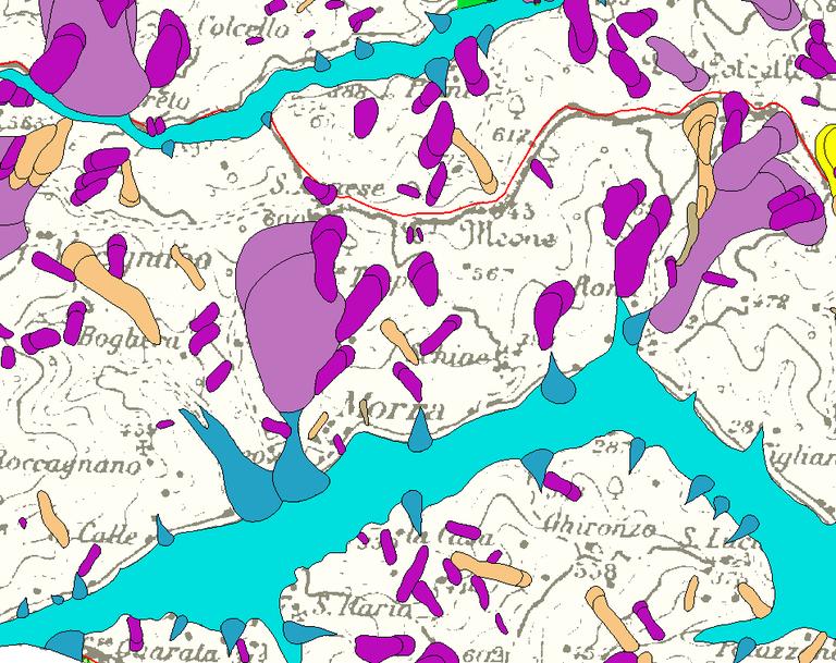 Landslide inventory map