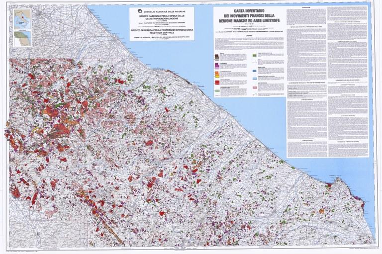 Carta Inventario dei Movimenti Franosi della Regione Marche ed aree limitrofe (1/2)
