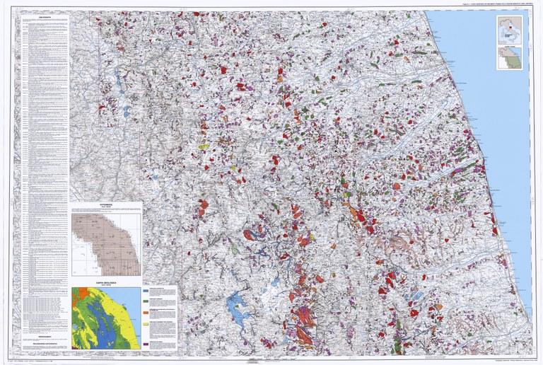 Carta Inventario dei Movimenti Franosi della Regione Marche ed aree limitrofe (2/2)